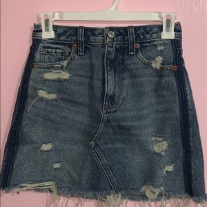 Vintage A- Skirt in blue
